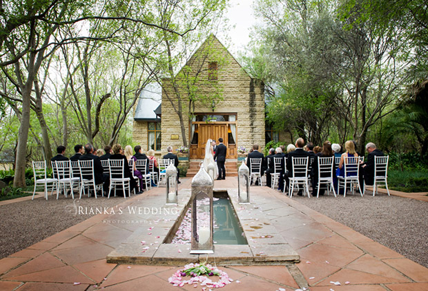Wedding Ceremony at De Hoek Country Hotel Wedding Venue Johannesburg