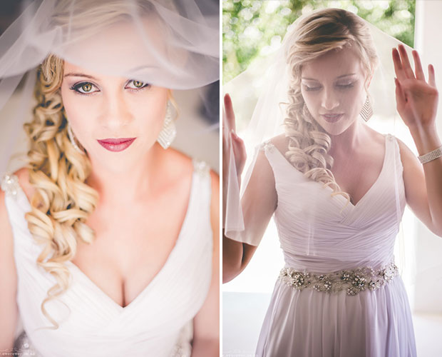 Bridal Potrait by Ever Ever Photography at Zorgvliet Wines