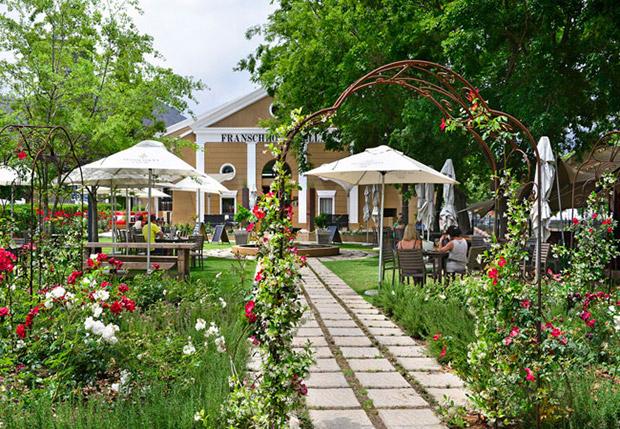 Franschhoek Cellar Wedding Venue Garden