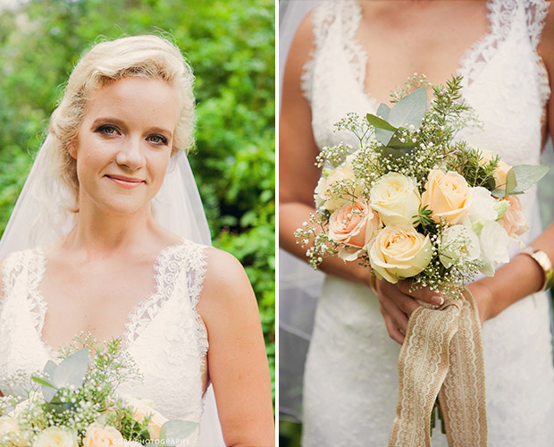 Beautiful Bride at Blue Gum Country Estate Wedding Venue Stanford Western Cape