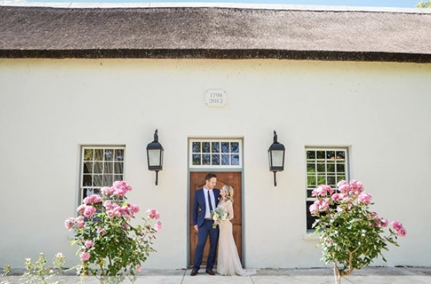 Au D'Hex Wedding Venue Winelands Cape Town Wellington Couple