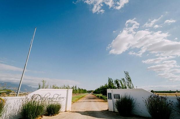 Delsma Farm Riebeeck Kasteel Wedding Venue Entrance