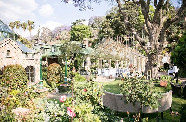 Shepstone Gardens Johannesburg wedding Venue Gardens