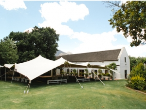 Lepizig Country House Wedding Venue Western Cape Tent