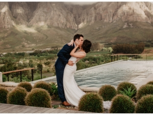 De Zeven Guest Lodge Wedding Venue Outdoor Couple Photograph