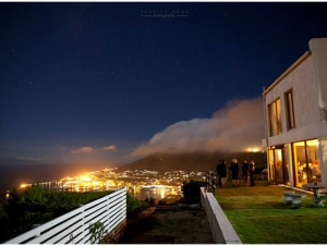 Gorgeous night-time view from Blue Horizon Estate