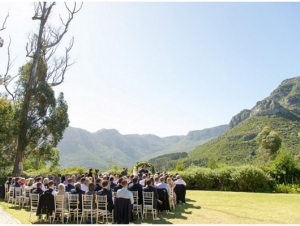 Silvermist Lodge And Wedding Venue Garden Ceremony