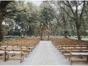 Canopied Ceremony Area Beloftebos Wedding Venue Stanford