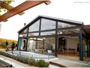 L'Avenir Wedding Venue Stellenbosch Western Cape Exterior View
