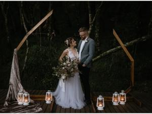 Qambathi Mountain Lodge Drakensberg Wedding Venue Ceremony Setup