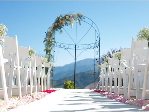 ROCA Restaurant Outdoor Ceremony Franschhoek