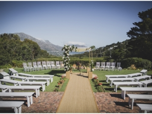 Suikerbossie Wedding Venue Hout Bay Ceremony View