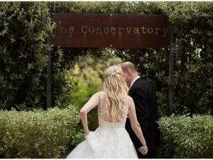 The Conservatory Wedding Venue Franschhoek Garden Couple