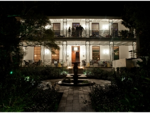 The Stack Wedding Venue Western Cape Cape Town Evening Entrance