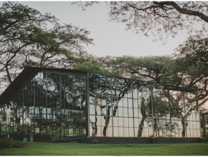 Whispering Thorns Wedding Venue Mpumalanga Glass Marquee Fairy Lights