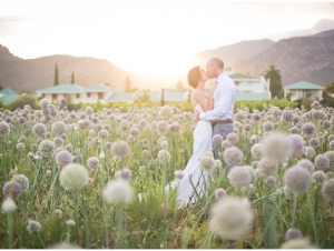 Wedding Couple Cabrieres Wedding Venue Montagu Karoo